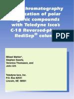 Teledyne Isco Redisep c18