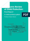 Munro Review of Child Protection Final Report a Child-Centred Cystem UK May 2011