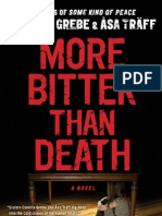MORE BITTER THAN DEATH by Camilla Grebe and Åsa Träff - free excerpt!