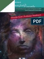 1. Filosofia geral e problemas metafísicos
