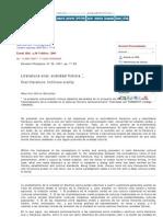 Estudios filológicos - Literatura oral, oralidad ficticia