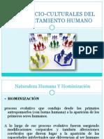 Bases Socio-culturales Del Comportamiento Humano