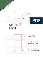 Detalle Losa