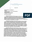 SEC Chairman letter to Sen. Rockefeller