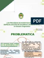 Procesos de Investigacion en La EDU