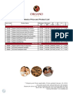 Price List Mexico(1)