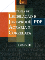 Coletânea de Legislação e Jurisprudência Agrária e Correlata - Tomo III