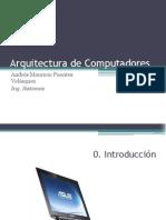 Arquitectura de Computadores-0 Introduccion
