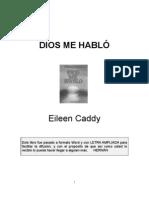 DIOS ME HABLÓ