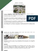 Informe de Actividades Caminar Nuestro Barrio