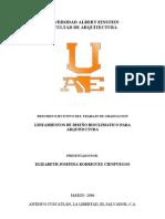 Lineamientos de Diseño Bioclimático para Arquitectura.