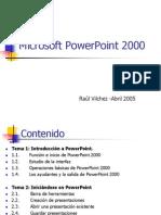 @Curso Sobre PowerPoint 2000