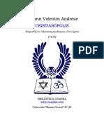 Christianopolis Johann Valentin Andreae