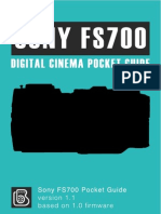 Sony FS700 Pocket Guide 1.1
