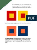 Los 7 Contrastes de Color Identificados Por Johannes Itten Son Los Siguientes