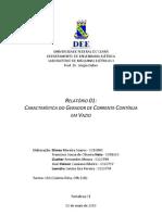 Relatório 01 - Característica Gerador CC em Vazio