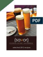 Savor Recipes
