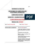 2007S1 Client Server Solutions