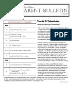 ES Parent Bulletin Vol#17 2013 May 10