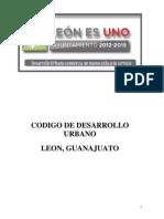 Codigo de Desarrollo Urbano Leon