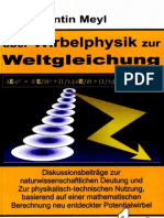 Prof. Konstantin Meyl --  Potentialwirbel Band1 (InhaltsVZ)