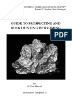 Guide to Rock Hunting and Prospecting