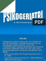Psikogeriatri