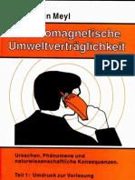 Prof. Konstantin Meyl -- Elektromagnetische Umweltverträglichkeit Teil1 (InhaltsVZ)