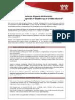 Manual Integracion Expedientes Credito Infonavit