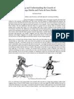 Forming and Understanding the Guards of Coda Lunga Stretta and Porta Di Ferro Stretta