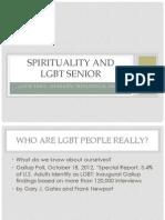 Spirituality and LGBT Seniors