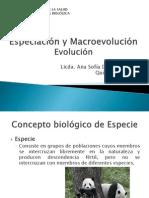 Clase No. 3 Evolución Especiación y Macroevolución