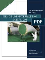 Ing de Los Materiales No Metalicos Trabajo Terminado
