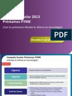 Campaña Escolar 2013_PYME