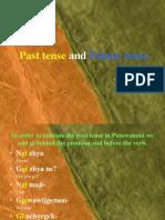 Past Tense and Future Tense