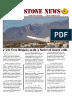 Gunstone Newsletter 2nd Quarter