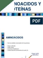 AMINOACIDOS Y PROTEÍNAS 2011-02