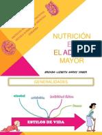 NUTRICIÓN EN EL ADULTO MAYOR