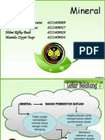 PPT Mineral