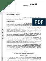 RESOLUCION 017510199 PPINTEGRACION
