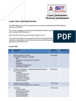 Level One Coaching Course