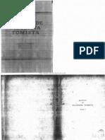 Manual de Filosofia Tomista Tomo I Logica Formal Ontologia Psicologia Padre Enrique Collin
