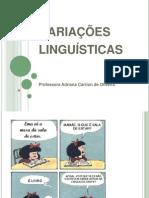 Aula de variação linguística