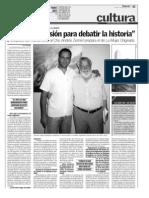 Entrevista Osvaldo Bayer y Andrés Zerneri