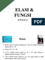 materi 02 - Relasi&Fungsi