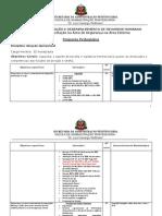 Proposta Pedagogica - Atuação Operacional