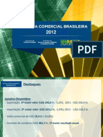 Balanca Comercial - 2012