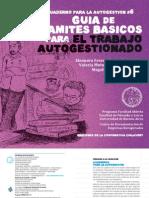 Cuadernos Para La Autogestion - Guia de Tramites Basicos Para El Trabajo Autogestionado