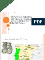 Expansión europea, Reforma, Estado Moderno.pdf