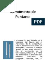 Termómetro de Pentano